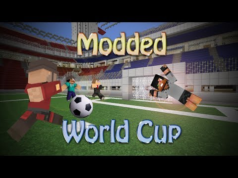 Minecraft: MODDED WORLD CUP (Sports Mod Minigame)