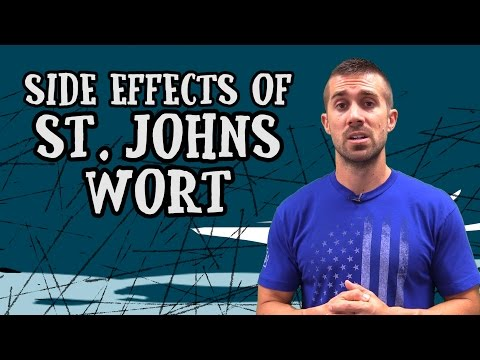 What are the Side Effects of St Johns Wort?