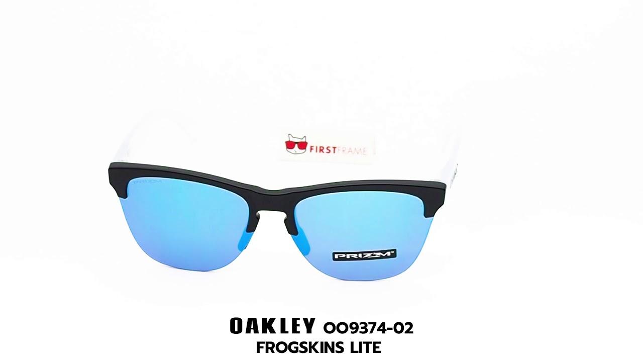 8b81c4440fd OAKLEY OO9374-02 FROGSKINS LITE - YouTube