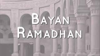 Maulana Razif - Bayan Ramadhan (Malay)
