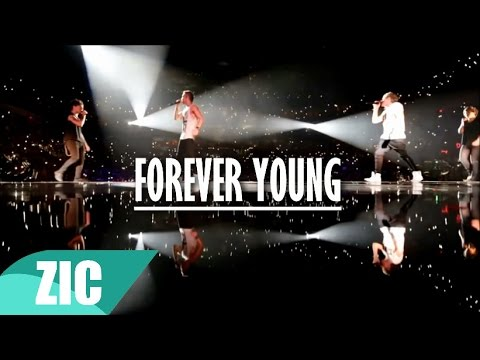 One Direction  Forever Young Music  + Lyrics