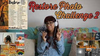 ASMR SOFT SPEAKING: Restore Photo Challenge Part 2 📸🍃 | Show & Tell, Ramble & Visuals