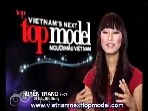 Minh Hằng in VietNam Next Top Model [live]