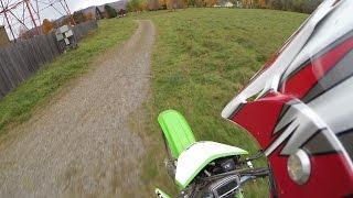 KLX400r Test Ride (DRZ400e)