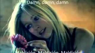 Avril Lavigne - Wish you were here Subtitulada Español e Ingles.