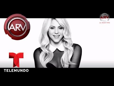 Shakira enloquece a todos con sus movimientos de sirena | Al Rojo Vivo | Telemundo