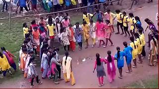 HOSTEL GIRL AND BOYS MASTI || NAGPURI SADRI DANCE || CHAIN DANCE