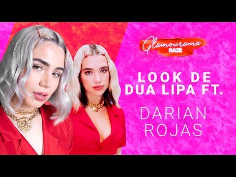 Darian Rojas recrea el look de Dua Lipa   Glamourama Raze