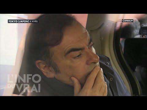 Carlos Ghosn au fond du trou - L'Info du Vrai du 24/04 - CANAL+