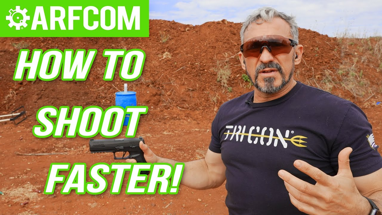How to Shoot Faster! W/ Navy Seal Jeff Gonzales