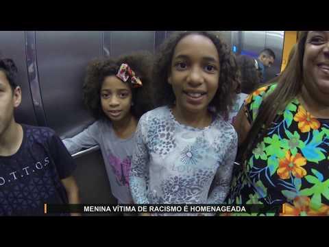 JMD (21/01/20) - Menina vítima de racismo é homenageada em Brasília pela minsitra Damares
