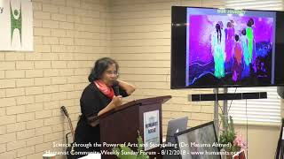 Science through the Power of Arts and Storytelling - Dr. Masuma Ahmed