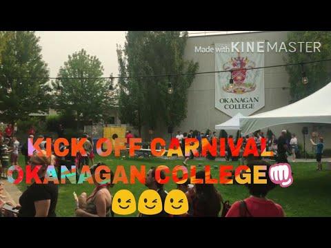 Okanagan college , british Columbia , Canada ,kickoff carnival😄