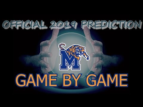 2019 MEMPHIS TIGERS SEASON PREDICTIONS AND PREVIEW   GAME BY GAME