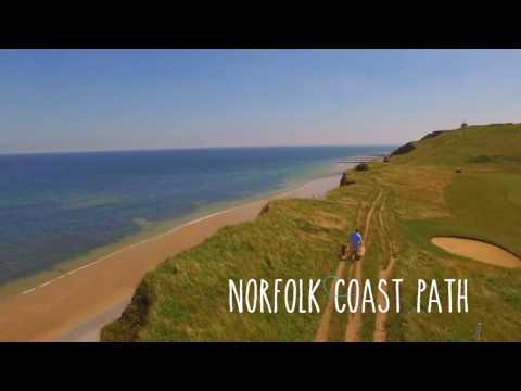 Walking in Norfolk, UK