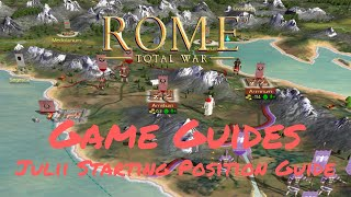 JULII STARTING POSITION GUIDE - Game Guides - Rome: Total War
