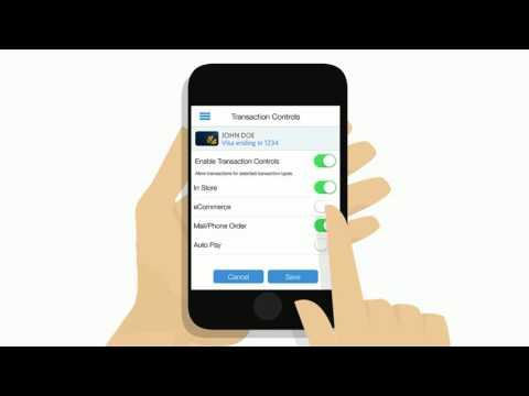 Irish Card Shield: How To Control Transaction Types