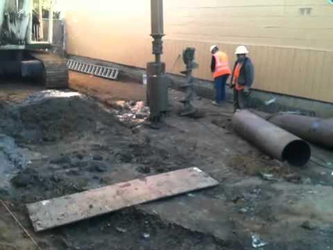 Drilling foundation