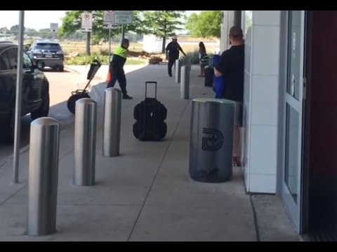 Harrowing video shows shooting at Dallas Love Field airport