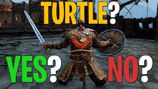 The Turtle Verdict - For Honor