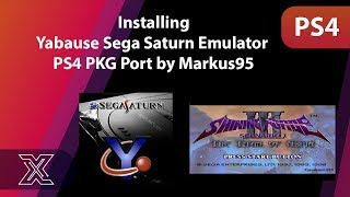 Installing Yabause Sega Saturn Emulator PS4 PKG Port by Markus95 |  PS4