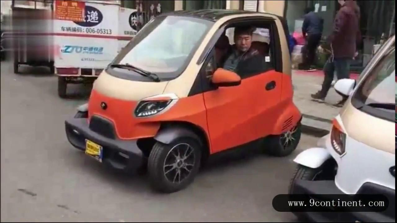 Mini Auto Elettrica Low Cost Youtube