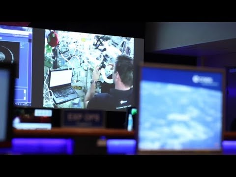 (French version) Thomas Pesquet: Science on the ISS