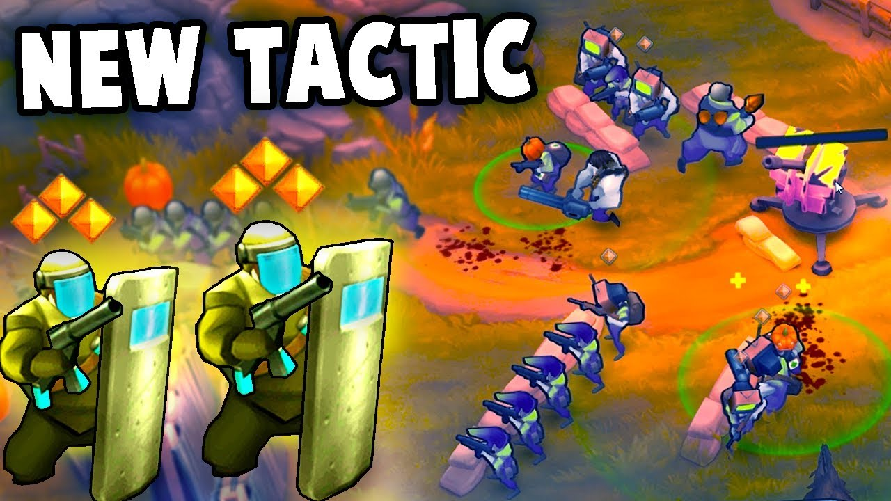 Trying a NEW TACTIC!  (Guns Up! Multiplayer Gameplay)