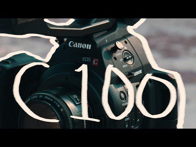 CAMARAS DE CINE!! La Asombrosa Canon C100 Mkii