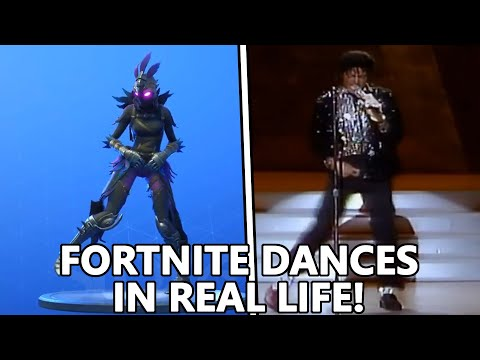ALL *NEW* FORTNITE DANCES IN REAL LIFE Fancy Feet Dance Therapy Capoiera & MORE