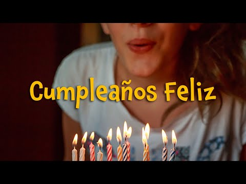 Cumpleaños feliz (instrumental - lyrics video for karaoke)