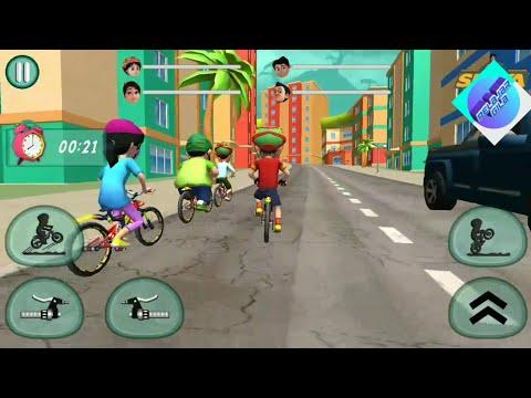 Shiva game - Shiva bicycle racing vedas city level 4