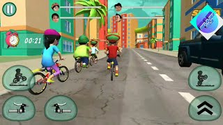 Shiva game - Shiva bicycle racing vedas city level 4