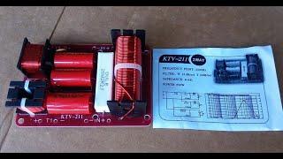 Mạch phân tần loa KARAOKE ( 1 bass, 2 treble) model KTV 211 lh: 01692540875