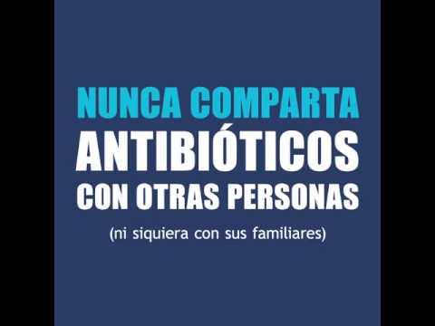 OMS: Nunca comparta antibióticos con otras personas (ni siquiera con sus familiares)