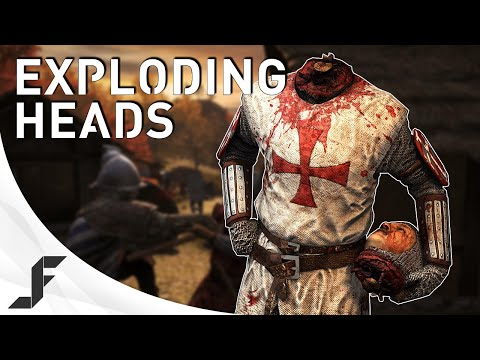 Exploding heads! Chivalry: Medieval Warfare |
