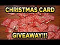 Merry Christmas - Thank You Card Giveaway!!!