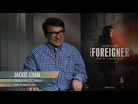 'The Foreigner' Interview   Jackie Chan