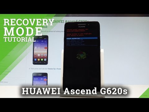 How to Enter Recovery Mode in HUAWEI Ascend G620s - Exit Recovery Mode |HardReset.Info
