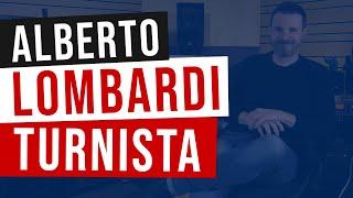 Alberto Lombardi e le esperienze da turnista