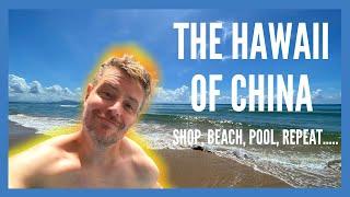 What to do in SANYA CHINA 2020 HaiTang Bay Shop Beach Pool Repeat chinavlog