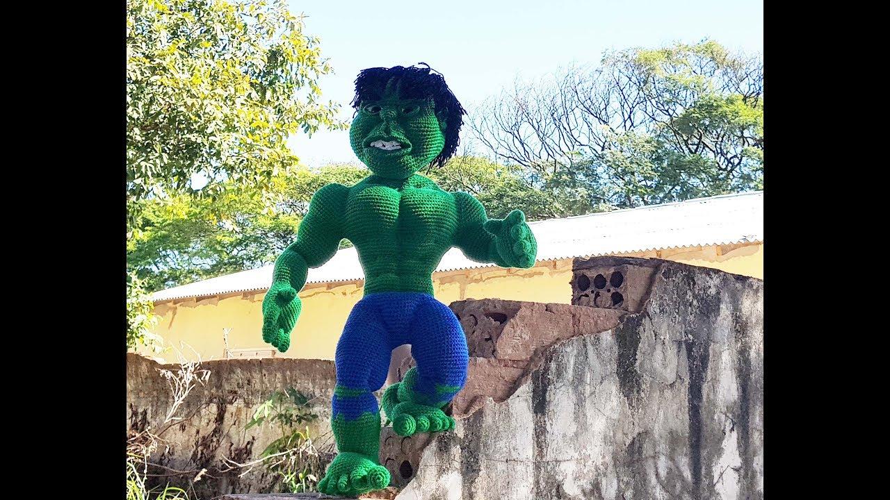 4: Hulk Amigurumi Oyuncak   Ev yapımı Marvel Oyuncak - YouTube   720x1280