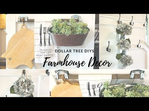 ⭐️DOLLAR TREE DIY FARMHOUSE DECOR ⭐️