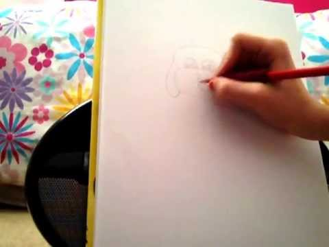 How to draw a cartoon dog (Leah McCann )