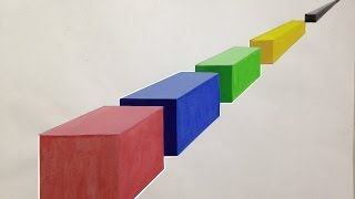How to draw 3D blocks