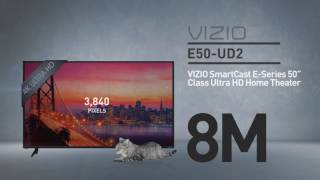 "New 2016 VIZIO E50u-D2 SmartCast™ E-Series 50"" Class Ultra HD Home Theater Display // Specs Review"