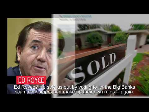 Ed Royce Sold Us Out