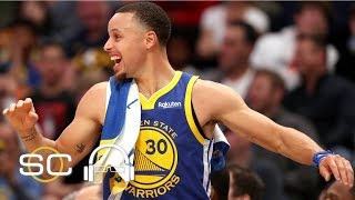 NBA film breakdown: The Warriors score 51 points in the 1st quarter | SC with SVP