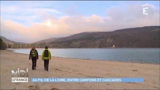 Au fil de la Loire : entre canyons et cascades