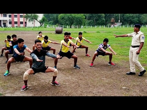 Thigh Exercise Best Video By Police B.S.Mandloi
